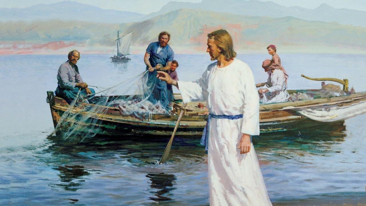 Morkaus evangelija - Jėzus prie Galilėjos ežero