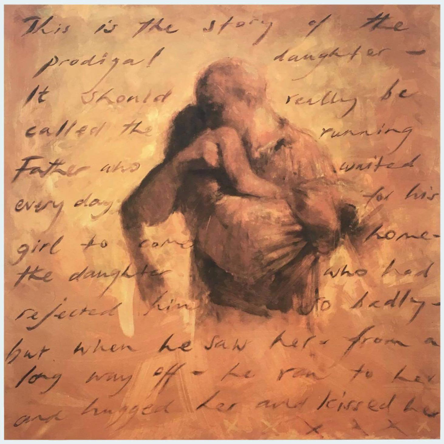 Pranašo Ozėjo knygą apipavidalinantis paveikslas Laikomas Dievo rankose